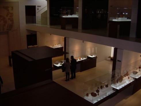 Madinat A-Zahra - et moderne museum,  Cordoba, katedral-moskéen La Mezquita, Guadalquivir, Unescos liste over Verdensarven, historisk bydel, gamleby, Andalucia, Spania