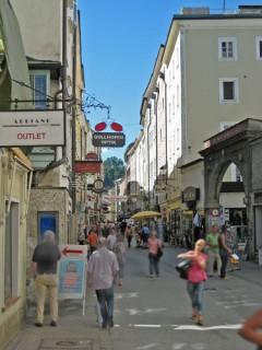 Linzer Gasse, Salzburg, Altstadt, Mozart, Unescos liste over Verdensarven, Tyrol og Salzburg, Østerrike