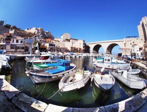 Vallon des Auffes, Marseille, Unescos liste over Verdensarven, Vieux Port, Vieux ville, gamlebyen, middelalder, Rhône, Sør-Frankrike, Frankrike