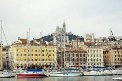 La Vieux Port, Marseille, Unescos liste over Verdensarven, Vieux Port, Vieux ville, gamlebyen, middelalder, Rhône, Sør-Frankrike, Frankrike