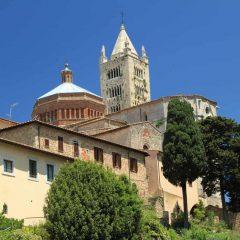 Massa Marittima, duomo, gamleby, historisk, Toscana, Midt-Italia, Italia