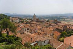 Massa Marittima, gamleby, historisk, Toscana, Midt-Italia, Italia