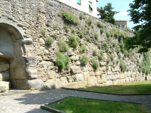 bymur, Cortona, etruskerne, middelalder, Toscana, Midt-Italia, Italia