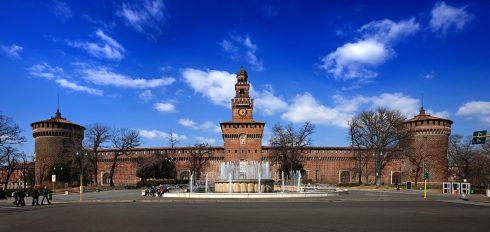 Sforzeco-borgen, Milano, Unescos liste over Verdensarven, Lombardia, Nord-Italia-Italia