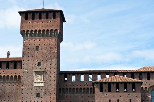 Castello Sforzesco, Milano, Unescos liste over Verdensarven, Lombardia, Nord-Italia-Italia