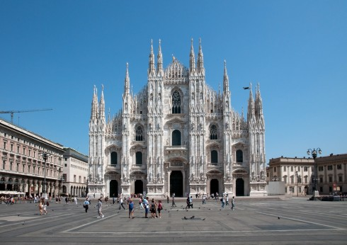 Duomo di Milano, Unescos liste over Verdensarven, Nord-Italia, Italia