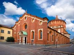 Santa Maria Grazie,  Leonardo da Vinci, Milano, Unescos liste over Verdensarven, Lombardia, Nord-Italia-Italia