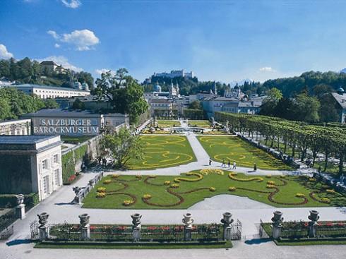 Salzburger Barockmuseum, Mirabelle Park, Salzburg, Altstadt, Mozart, Unescos liste over Verdensarven, Tyrol og Salzburg, Østerrike