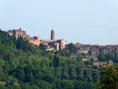 Montepulciano, gamleby, historisk, Toscana, Midt-Italia, Italia