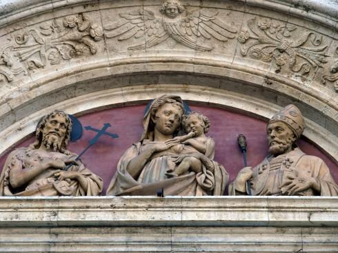 Sant'Agostino, Montepulciano, gamleby, historisk, Toscana, Midt-Italia, Italia