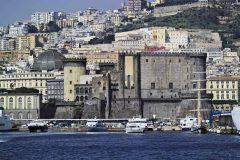 Castelnuovo, Napoli, renessanse, normannere, middelalder, Unescos liste over Verdensarven, historisk bydel, gamleby, Campania, Sør-Italia, Italia