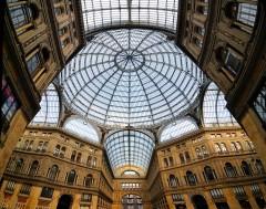 Galeria Umberto, Napoli, Campania, Sør-Italia, Italia