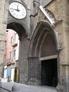 chiesa San Elegio, Napoli, renessanse,middelalder, historisk bydel, gamleby, Campania, Sør-Italia, Italia