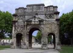 triumfbue, Orange, romertid, teater, triumfbue, Provence, Cote d'Azur, Sør-Frankrike, Frankrike