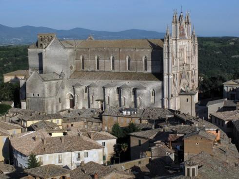 Duomo, Orvieto, middelalder, Umbria, Midt-Italia, italia