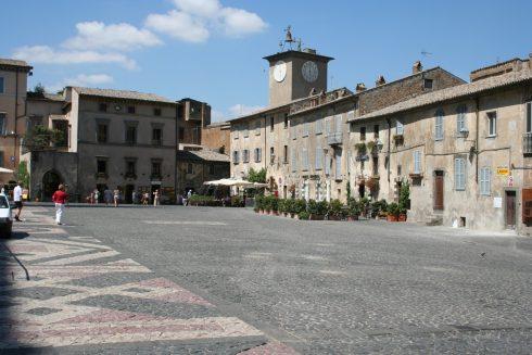 Piazza del Duomo, Orvieto, middelalder, etruskere, etruskisk, Umbria, Midt-Italia, italia