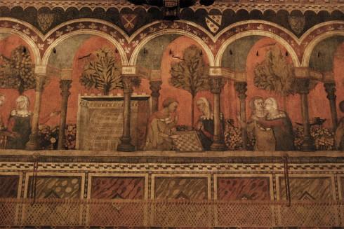 Firenze, Palazzo Davanzati, renessanse, middelalder, Unescos liste over Verdensarven, historisk bydel, gamleby, Toscana, Midt-Italia, Italia