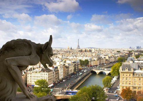 Notre Dame, Paris, Nord-Frankrike, Frankrike