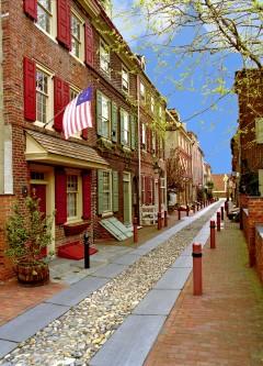 Philadelphia, Elfreth Alley, Unescos liste over Verdensarven, USA