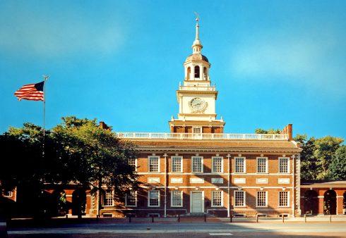Philadelphia, Independence Hall, Unescos liste over Verdensarven, USA