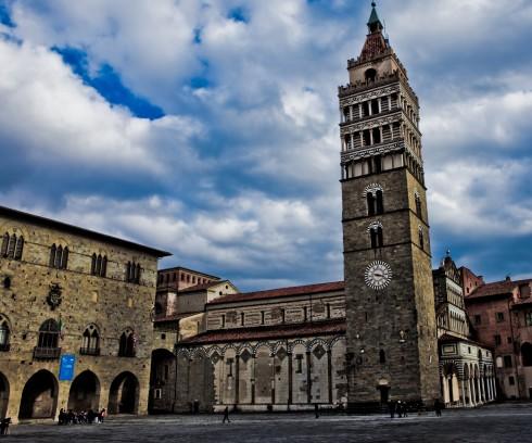 Pistoia, renessanse, middelalder, katedral, historisk bydel, gamleby, Toscana, Midt-Italia, Italia