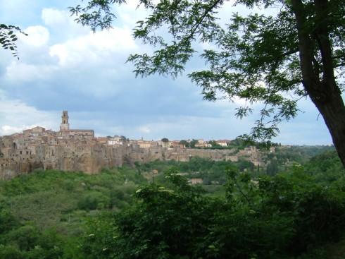 Pitigliano, middelalder, historisk, gamleby, Toscana, Midt-Italia, Italia