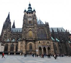 St Vitus-katedralen, Praha, Stare Mesto, Unesco Verdensarven, middelalder, markedsplassen, Karlsbroen, Böhmen, Tsjekkia
