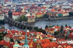 Karsbroen, Praha, Stare Mesto, Unesco Verdensarven, middelalder, markedsplassen, Karlsbroen, Böhmen, Tsjekkia