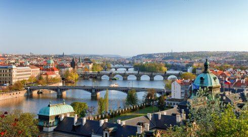Borghøyden, St Vitus, Praha, Stare Mesto, Unesco Verdensarven, middelalder, markedsplassen, Karlsbroen, Böhmen, Tsjekkia