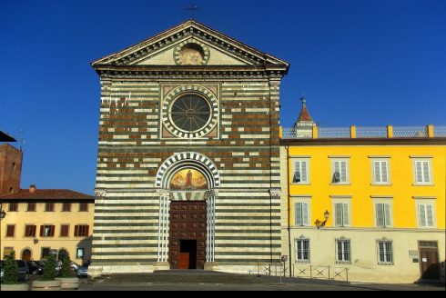 San Franseco, Prato, gamleby, middelalder, romansk, historisk, Toscana, Midt-Italia, Italia