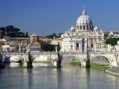 Ponte Sisto, Roma, Lazio, Midt-Italia, Italia