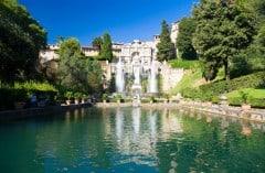 Tivoli, Roma, Unescos liste over Verdensarven, romerriket, Forum, antikken, historiske bydeler, gamlebyen, Trastevere, den evige stad, Tiber, Vatikanet, Panthon, Roma, Midt-Italia, Italia