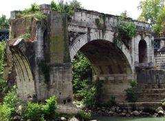 Ponte Rotto, Roma, Unescos liste over Verdensarven, romerriket, Forum, antikken, historiske bydeler, gamlebyen, Trastevere, den evige stad, Tiber, Vatikanet, Panthon, Roma, Midt-Italia, Italia