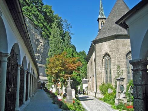 St Peter Klosterkirche, Salzburg, Altstadt, Mozart, Unescos liste over Verdensarven, Tyrol og Salzburg, Østerrike