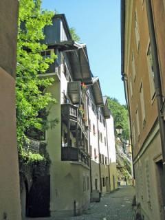 Steingasse, Kapuzinerkloster, Salzburg, Altstadt, Mozart, Unescos liste over Verdensarven, Tyrol og Salzburg, Østerrike