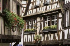 Strasbourg, Musée Alsacien, Grand Île, gamleby, historiske bysenter, Unescos liste over Verdensarven, bindingsverk, kanaler, Palais Rohan, Nord-Frankrike, Frankrike