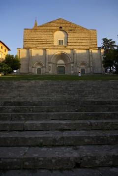 Chiesa di San Fortunato, Todi, middelalder, Umbria, Midt-Italia, italia