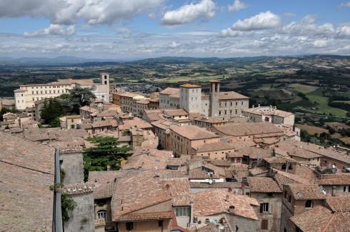 Todi, middelalder, Umbria, Midt-Italia, italia