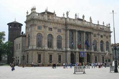 Palazzo Madama, Piazza Castello, Torino, Valle d'Aosta og Piemonte, Unescos liste over Verdensarven, barokk-arkitektur, Nord-Italia, Italia
