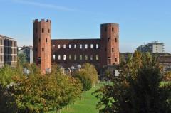 Porta Palatina, Piazza Augusta, Torino, Valle d'Aosta og Piemonte, Unescos liste over Verdensarven, barokk-arkitektur, Nord-Italia, Italia