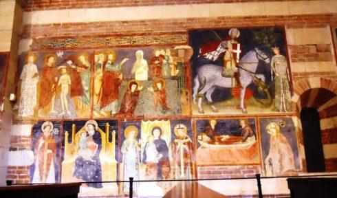 Verona, San Zeno, Arena, Piazza delle Erbe, Piazza Signori, Piazza Bra, Unescos liste over Verdensarven, romerriket, antikken, historiske bydeler, gamlebyen, Veneto, Nord-Italia, Italia