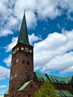 Århus - domkirken, Århus, Jylland, Danmark