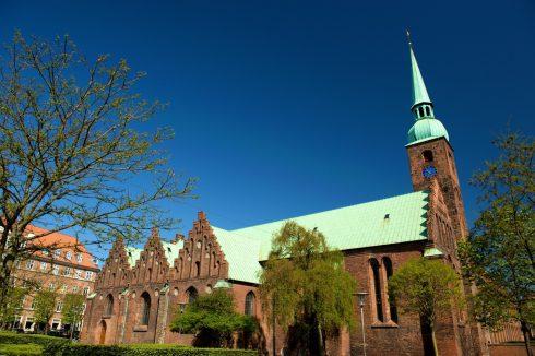 Vor Frues kirke, Århus, Jylland, Danmark
