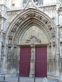 Cathédrale St-Saveur fra 1200-tallet, Aix-en-Provence, Provence, Cote d'Azur, Sør-Frankrike, Frankrike