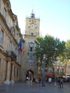 Hotel de Ville, Aix-en-Provence, Provence, Cote d'Azur, Sør-Frankrike, Frankrike