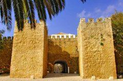 Maurisk borg, Lagos, Algarvekysten, Sør-Portugal, Portugal