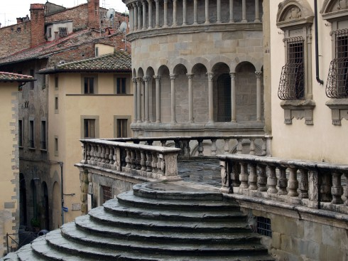 Arezzo, gamleby, middelalder, romansk, historisk, Toscana, Midt-Italia, Italia