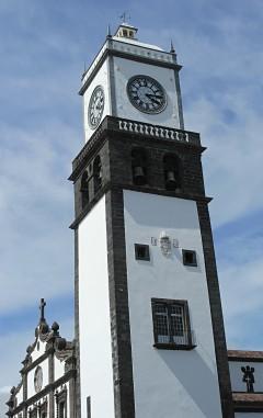 Sao Sebastio i Ponta Delgada på øya Sao Miguel, Azorene, Portugal