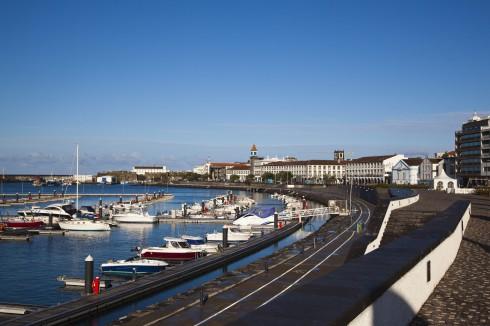 Ponta Delgada, Azorene, Portugal