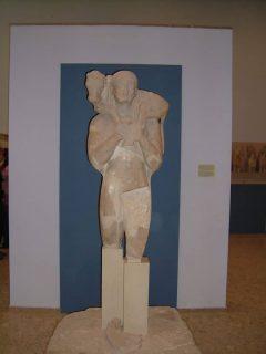 Kalvebæreren, Akropolis-museet, Athen, Hellas